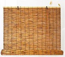 NIANXINN Tenda a Rullo in bambù - Tapparella