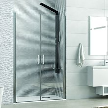 Nicchia doccia saloon 75cm vetro trasparente