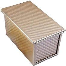 NICETOW Toast Box Pan con Coperchio Antiaderente