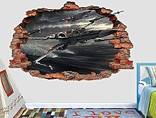 Nicoole Adesivo murale 3D Adesivo murale 3D Vinile