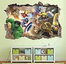 Nicoole Adesivo murale 3D Adesivo murale Adesivo