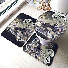 NieR Automata 2B - Set di 3 tappetini da bagno