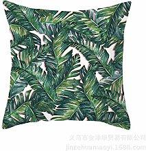 Noete Federa decorativa per cuscino con pianta