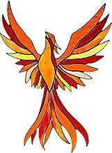 non_brand Acrilico Phoenix Sospeso Colorato per