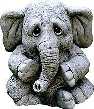 non_brand Baby Elephant Figurine da Tavolo Statua