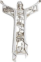 non_brand Cristo Risorto Croce Da Parete Gesù