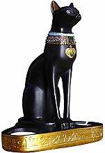 Non-brand Egitto Egiziano Bastet Gatto Dea Statua