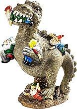 non_brand Statua da Giardino Dinosauro Realistico