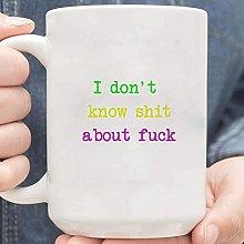 Non so un cazzo di Fuck Mug, Coffee Mug,