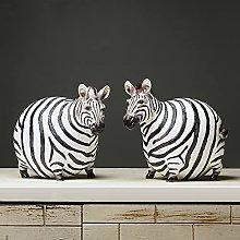 Nordic in grasso zebra statua cavalli scultura
