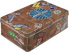 Nostalgic-Art Retro Vorratsdose Flach Pan Am –