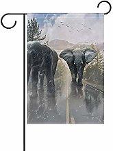 Not Applicable Bandiere dell'elefante Che