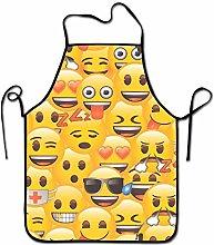 Not Applicable Grembiule da Cucina Emoji 2 Unisex