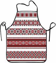 Not Applicable Grembiule Rosso Art Ukrainian