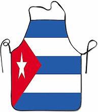 Not Applicable Grembiuli con Bandiera di Cuba per