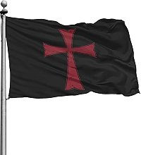 Not Applicable Outdoor Seasonal Flag,Knights