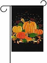 Not Applicable Pumpkin Welcome Garden Flag 12.5 X