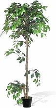 Nova - Ficus Nano Artificiale Decorativo con Vaso