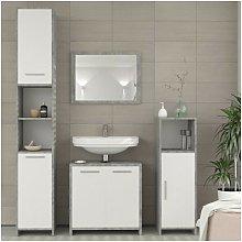 Nova - Set mobili bagno moderno 4 pezzi sotto