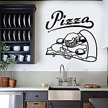 NSRJDSYT Adesivo murale per Pizza Cibo Ristorante