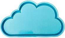 Nube resina Coaster stampi nuvola silicone stampo