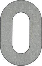 Numero civico 0 - di acciaio inox