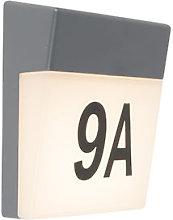 Numero civico illuminato Numbers - Moderno -