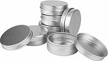 NUOBESTY Barattoli di Latta Scatola Alluminio