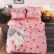Nuovo classico set di biancheria da letto in tinta
