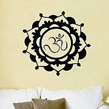 Nuovo Design Adesivo Mandala Parete Fiore Vinile