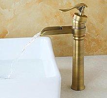 Nuovo rubinetto per lavabo in ottone massiccio in