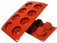 NY Cake QWET Stampo da forno per torte a 8 cavità.