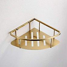 NZDY Mensola ad angolo per bagno in acciaio