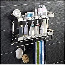 NZDY Mensola per doccia Mensola per bagno Mensola