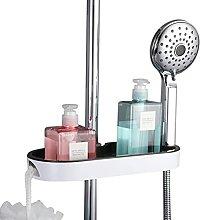 NZDY - Mensola portaoggetti per doccia senza