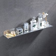 NZDY Montaggio a parete Mensola da bagno nera