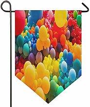 Oarencol, bandiera astratta arcobaleno,