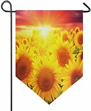 Oarencol - Bandiera decorativa da giardino con