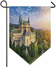 Oarencol - Bandiera decorativa da giardino,
