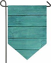 Oarencol, bandiera vintage in legno, stile