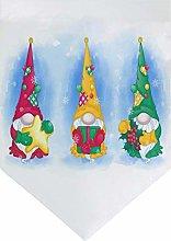 Oarencol - Gnomi di Natale, grande bandierina per