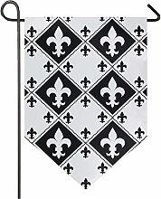 Oarencol Mardi Gras Fleur De Lis - Bandiera da