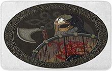 Odin Warrior Barbarian Viking Berserker Ascia E