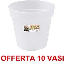 OFFERTA 10 VASO ORCHIDEE GREEN BASICS ORCHID 15CM