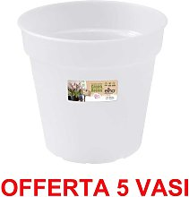 OFFERTA 5 VASO ORCHIDEE GREEN BASICS ORCHID 15CM