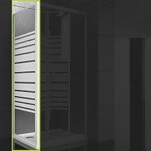 Ogomondo lato fisso per box doccia book bianco