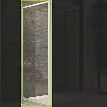 Ogomondo lato fisso per box doccia corner bianco