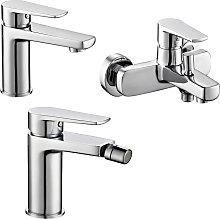 Ogomondo - Miscelatore rubinetto bidet cromato +