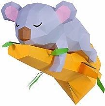 Oh Glam Home Kit DIY Koala dormendo sul ramo