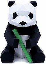 Oh Glam Home Kit DIY Orso Panda Bambù Papercraft